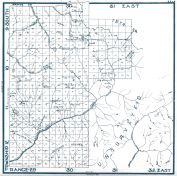 Sheet 65 - Township 9, 10, 11, 12 S., Range 29, 30, 31 E., Fresno County 1923